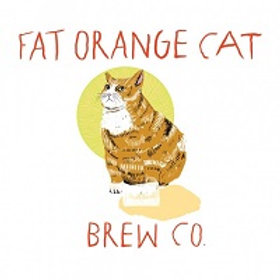 Fat Orange Cat Welcome to Harga Director's Cut DIPA 4 Pack 16 oz Cans