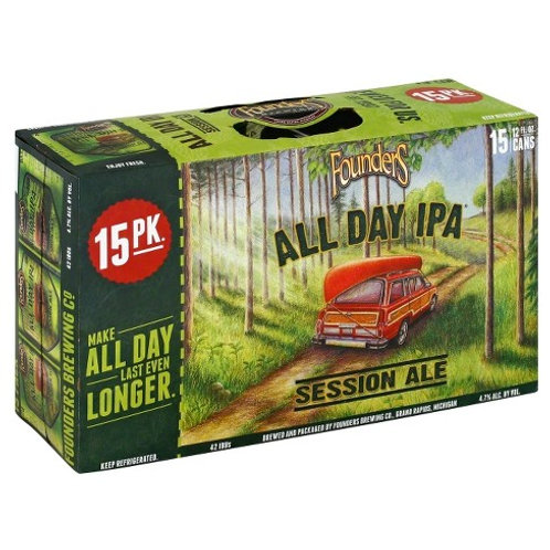 Founders All Day IPA 15 Pack 12 oz Cans