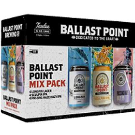 Ballast Mix Variety Pack 12 Pack 12 oz Cans