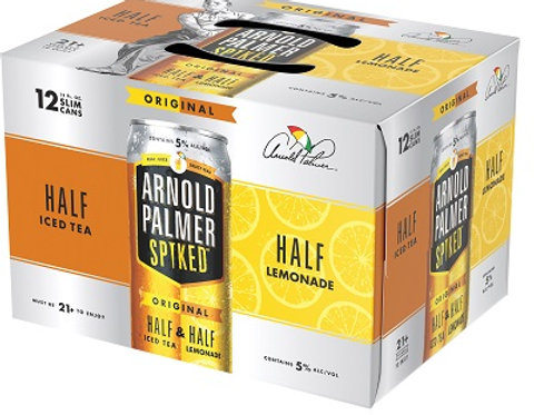 Arnold Palmer Spiked Half and Half 6 Pack 12 oz Cans