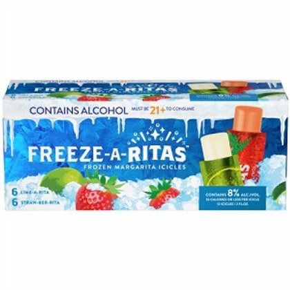 Freeze-a-Rita Freeze Pops, 12 Pack box
