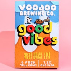 Voodoo Good Vibes 6 Pack 12 oz Cans