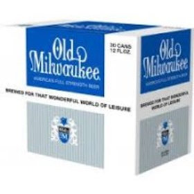 Old Milwaukee Light 30 Pack 12 oz Cans