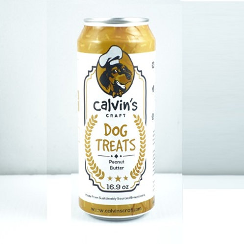 Cavin's Craft Cookies Dog Treat - Peanut Butter Flavored 1 Pack 16 oz Can