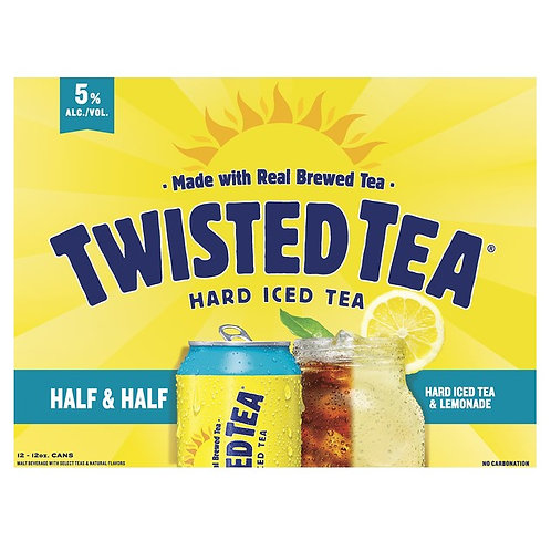 Twisted Tea Half and Half 12 Pack 12 oz Cans