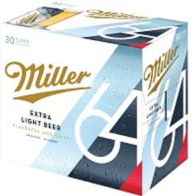 Miller 64  30 Pack 12 oz Cans