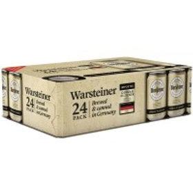 Warsteiner Pilsner  24 Pack 12 oz Cans