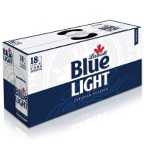 LaBatt Blue Light 18 Pack 12 oz Cans