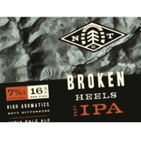 New Trail Broken Heels  4 Pack 16 oz Cans