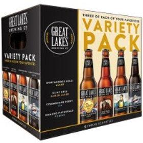 Great Lakes Variety 12 Pack 12 oz Bottles