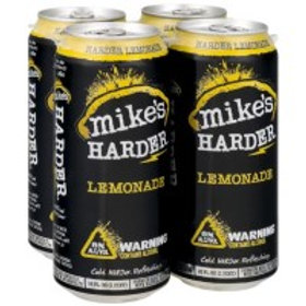 Mikes Harder Lemonade 4 Pack 16 oz Cans