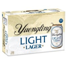 Yuengling Light 24 Pack 12 oz Cans