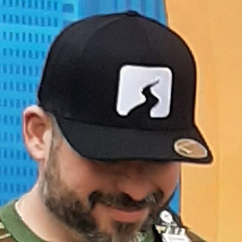 Creekside Black Trucker Hat