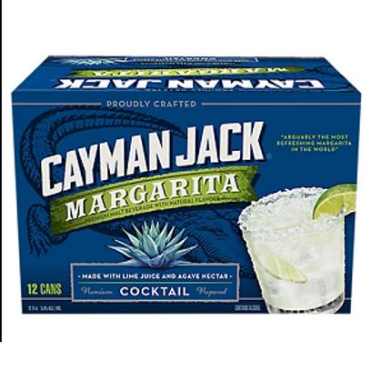 Cayman Jack Margarita 12 Pack 12 oz Cans
