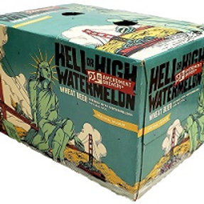 21st Amendment Hell or High Watermelon 6 Pack 12 oz Cans