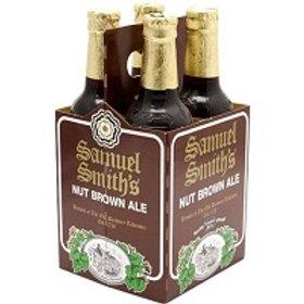 Sam Smith Nut Brown Ale 4 Pack 11.2 oz Bottles