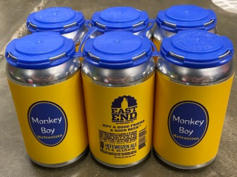 East End Hefeweizen 6 Pack 12 oz Cans