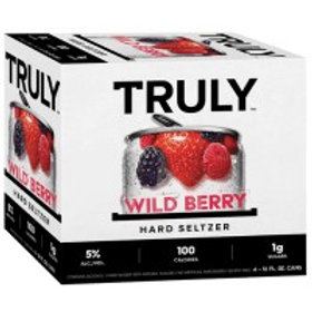 Truly Wild Berry  6 Pack 12 oz Cans
