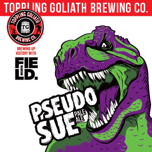 Toppling Goliath Pseudo Sue 4 Pack 16 oz Cans