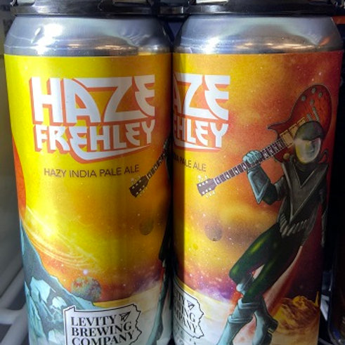 Levity Haze Frehley IPA 4 Pack 16 oz Cans