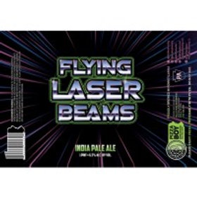 Pizza Boy Flying Laser Beams 4 Pack 16 oz Cans