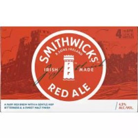 Smithwick's Red Ale 12 Pack 11.2 oz Bottles