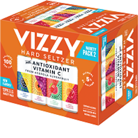 Vizzy Variety Pack #2 12 Pack 12 oz Cans