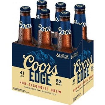 Coors Edge 6 Pack 12 oz Bottles