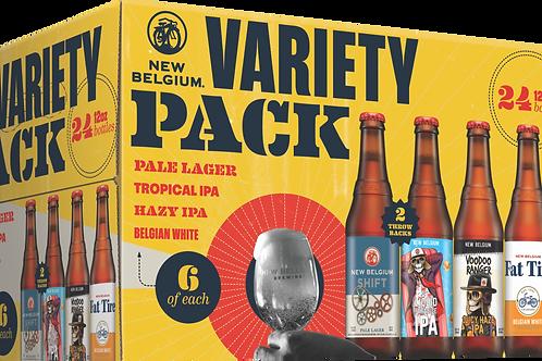 New Belgium Variety  Pack 12 Pack 12 oz Bottles