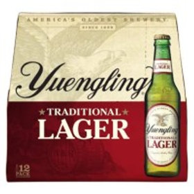 Yuengling Traditional Lager 12 Pack 12 oz Bottles
