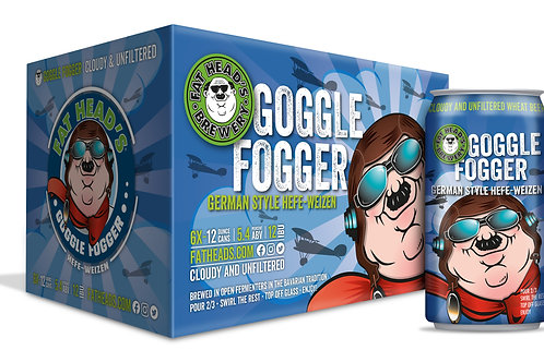 Fat Heads Goggle Fogger 6 Pack 12 oz Cans