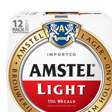 Amstel Light 12 Pack 12 oz Cans