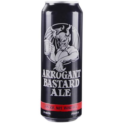 Stone Arrogant Bastard 4 Pack 19.2 oz Cans