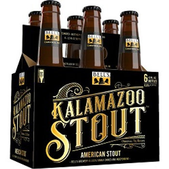 Bells Kalamazoo Stout  6 Pack 12 oz Bottles