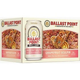 Ballast Point Grapefruit Sculpin 6 Pack 12 oz Cans