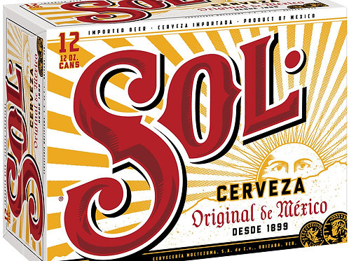 Sol  12 Pack 12 oz Cans
