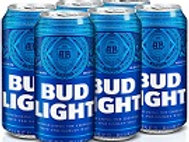 Bud Light  6 Pack 16 oz Cans