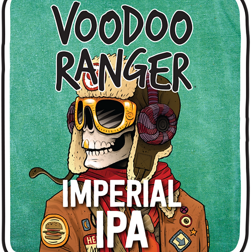 New Belgium Voodoo Ranger Imperial IPA 12 Pack 12 oz Bottles