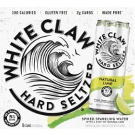 White Claw Lime 6 Pack 12 oz Cans