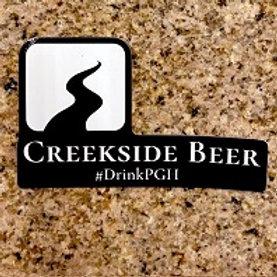 Creekside Sticker