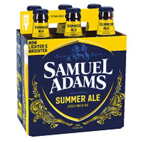 Sam Adams Summer Ale 6 Pack 12 oz Bottles