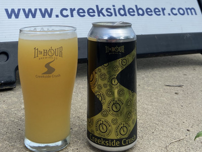 """Introducing """"Creekside Crush"""" by 11th Hour Brewing"""
