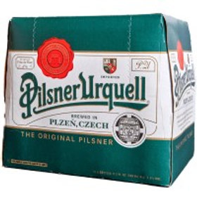 Pilsner Urquell  12 Pack 11.2 oz Bottles