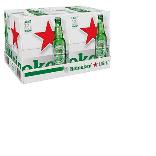 Heineken Light 12 Pack 12 oz Bottles
