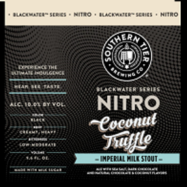 Southern Tier Nitro Coconut Truffle Stout 4 Pack 9.65 oz Cans
