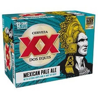 Dos Equis Pale Ale 12 Pack 12 oz Cans