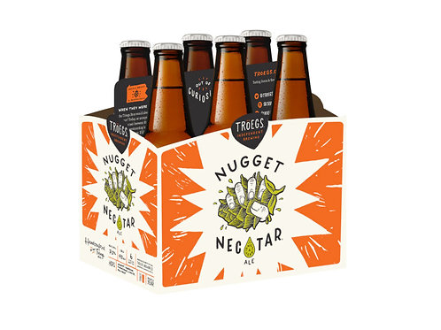 Troegs Nugget Nectar  6 Pack 12 oz Bottles
