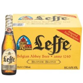 Leffe Blonde 24 Pack 11.2 oz Bottles