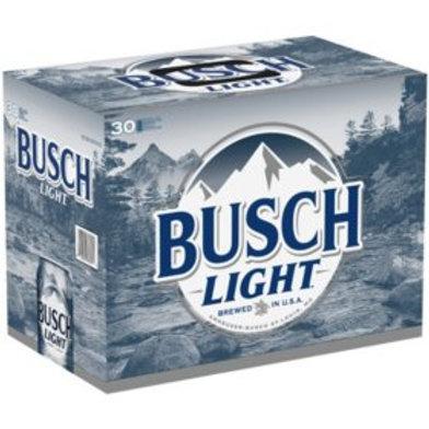 Busch Light  30 Pack 12 oz Cans