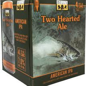 Bells Two Hearted Ale 4 Pack 16 oz Cans